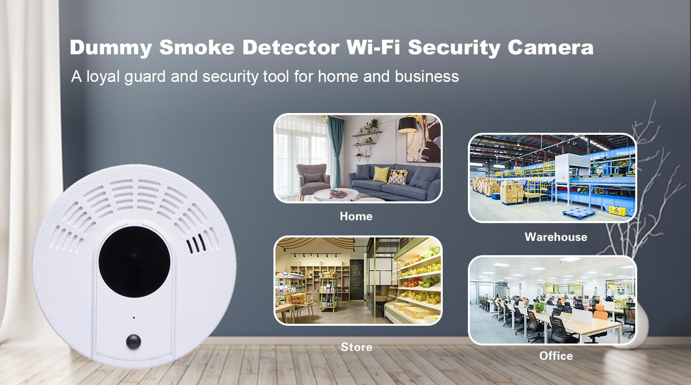 烟雾 wifi ip 间谍相机
